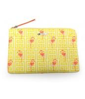Flamingo pouch