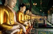 inside Taoism temple
