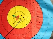 Learn archery basics! Eat pizza! Play archery games!