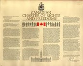 Canadian Chater of Rights and Freedoms