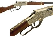 Henry Engraved Golden Boy 22LR