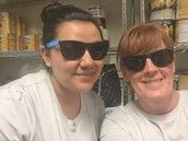 Staff Members of the Week: Thalia Rodriguez & Kenda Andrews, Cafeteria