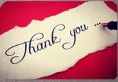We Appreciate Our Teachers!