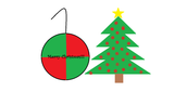 We also created a Christmas ornament using Microsoft Paint.