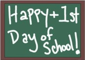Have a great first day!