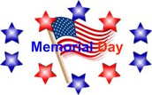 No School: Memorial Day