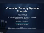 Information Security Systems Controls (Code:ISSC)
