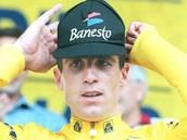 Miguel after winning the tour de france