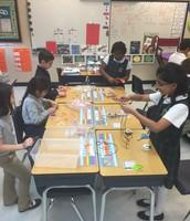 Third Graders Hard at Work
