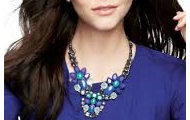 Peacock Necklace {$128}