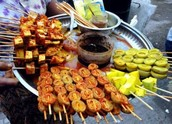 What they ate at the festivals