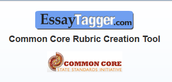 Essay Tagger Common Core Rubric Tool