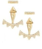 Pavé Triangle Ear Jacket $24  SOLD