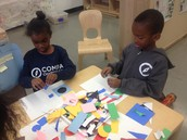 Making beautiful collages with Studio in a School.