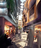 Masdar is a pedestrian focused city