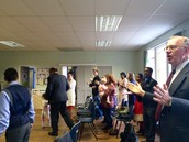 Worship service!