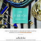 June Hostesses Receive an additional $50 in product!