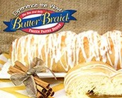 Butter Braid Orders Due Tomorrow!