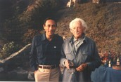 Professor John Mack with Erikson at the Second Annual Esalen Institute Symposium on the Psychology of the USA
