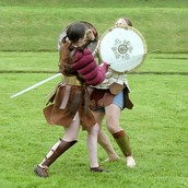 Gladiatorial fighting