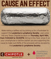 Save the Date: Chipotle Fundraiser