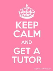 Tutoring! - all tutoring will be held this week