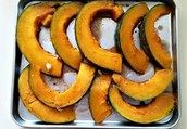 No need to peel. The rind is thinner and the squash holds its shape.