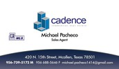 Call Michael Pacheco for more information