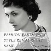 Coco Chanel Quote!