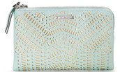 Double Clutch Soft Mint Perf $44.50