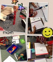 We Love Our Math Work Places!