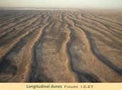 Dunas longitudinales