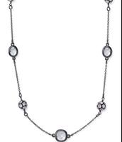 Chelsea necklace in Hematite