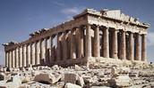 Parthenon in Greek