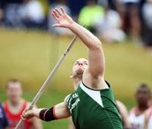 A Javelin Thrower In the Modern Day Olympics