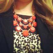 SOLD! Olivia Bib Necklace