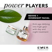 Revive and Overnight Facial