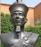 King Menes Statue Monument