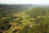 Ridge-and-Valley Appalachian fold mountains