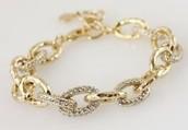 Christina Link Bracelet (Gold)