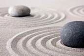 Rocks in a Zen Garden