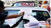 Hong Kong cabbies plan 100-vehicle siege of government headquarters to protest proposed premium taxi scheme