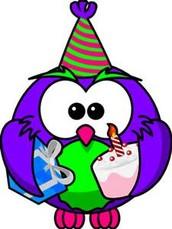 18. Happy Birthday!