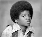 michael jackson when he was little