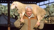 Ariel Sharon at his farm