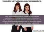 Way to go Drs. Rodan & Fields!!