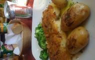 Delicious cod fish