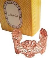 Geneve Lace Cuff - rose gold