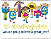 May 5th - Kinder Orientation