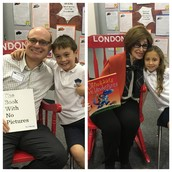 Wow! Thank you to Gabi's Gigi and Max's Dad Craig for being our TWO mystery readers today!!